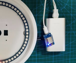NeoPixel NTP Clock Using ESP8266