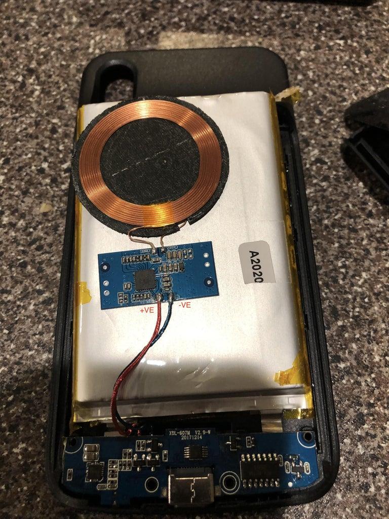 Remove the Thermal/teflon (yellow) Tape