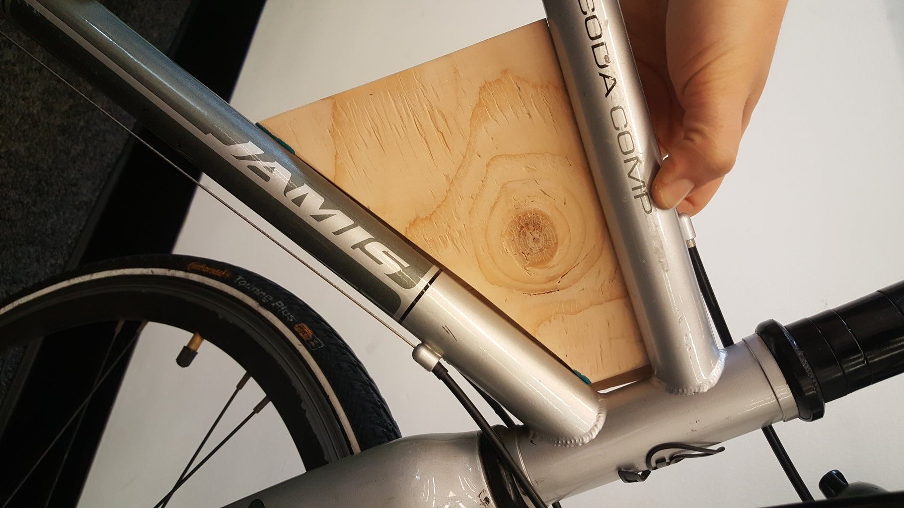 Bicycle Attachment Plate: Fine-tuning