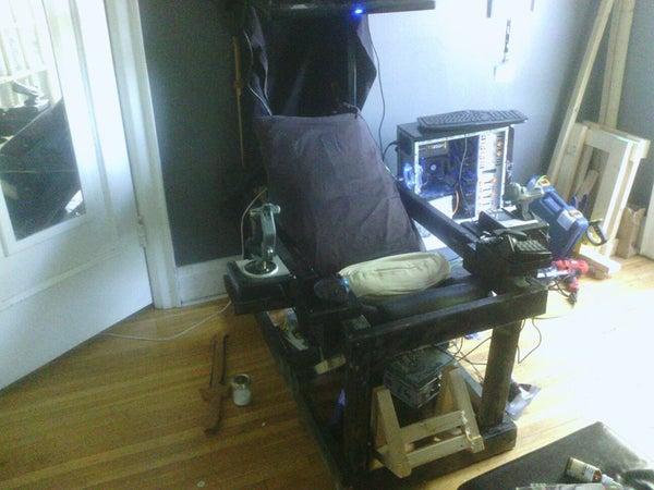 POD -  Recumbent Computer Desk V3.0