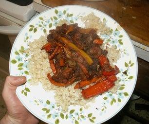 Cheap Sweet & Sour Beef  & Veggies Tempura  Serves 4