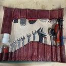Custom Leather Tool Roll