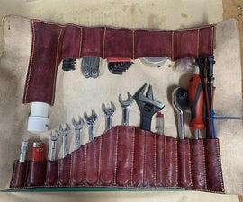 定制皮革工具卷