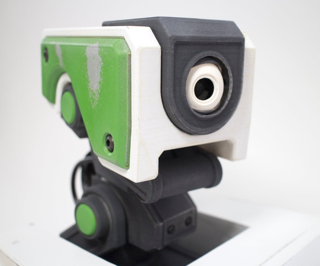 3D Printed Animatronic Puppet