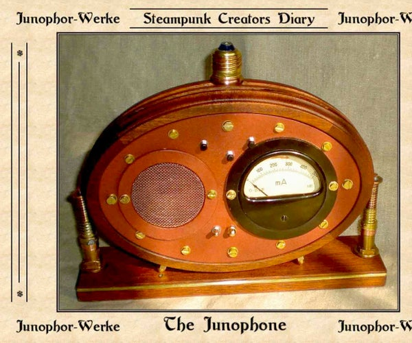 """Steampunked Mp3-player """"Junophon"""""""