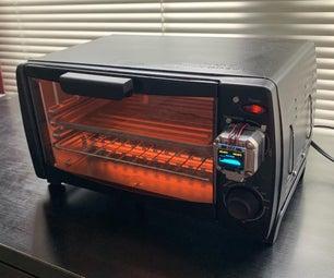 一个utomatic SMD Reflow Oven From a Cheap Toaster Oven