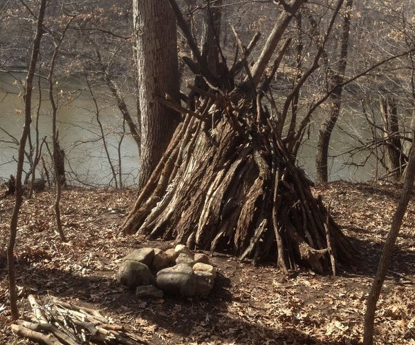 How to Make a Survival Camp Site in the Woods
