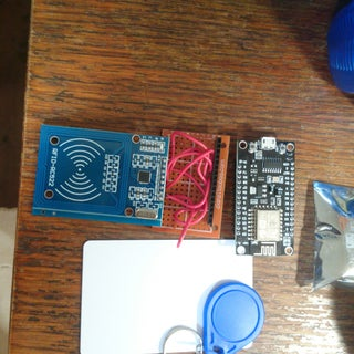 MFRC522 RFID Reader Interfaced With NodeMCU