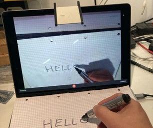 Mirrorholder for Online Teaching