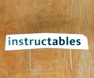 Make an Instructables Header