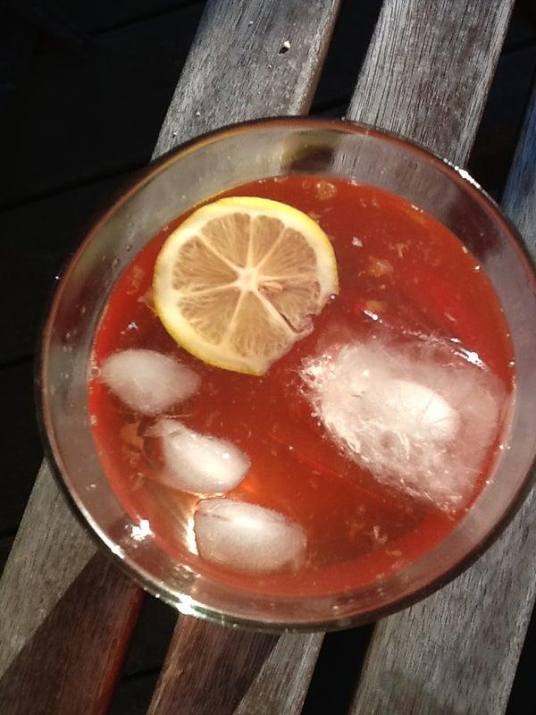 Pink Cherry Lemonade