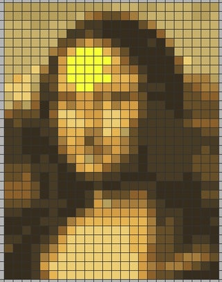 Easy Post It Sticky Note Mosaics Using Free Software 13 Steps Instructables