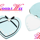 Greeting Card or Invite a Heart-shaped