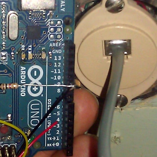 Phone Jack Thermometers
