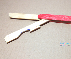 DIY Army Toy Knife