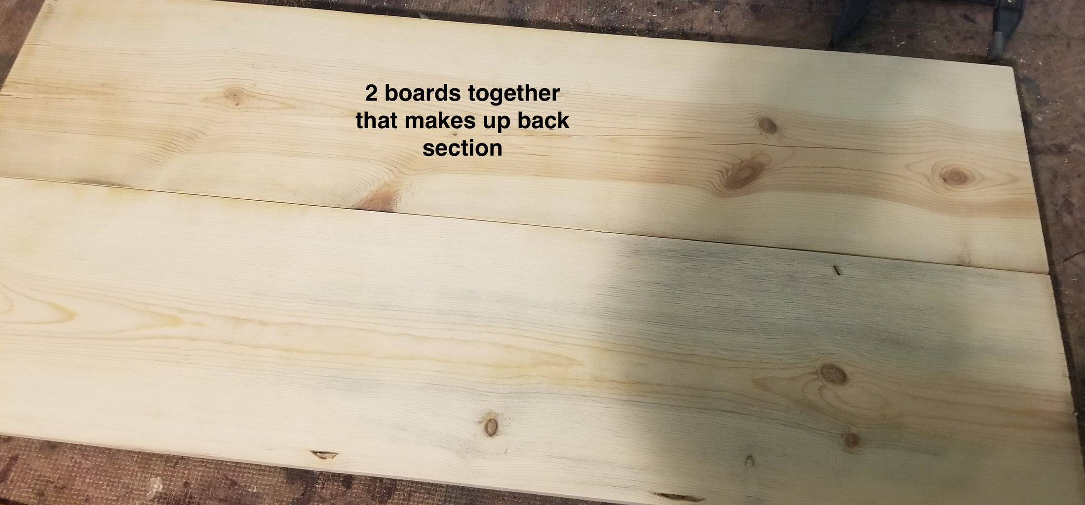 Cutting and Installing Boards That Cover Pocket Holes