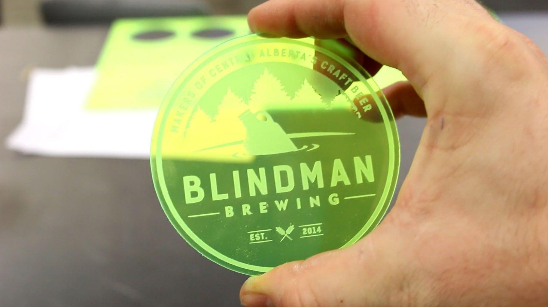 Coaster 3: Blindman Brewing