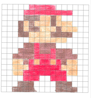 Pixel Art 3 Steps With Pictures Instructables