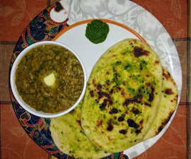 """Dal Makhani and Naan""- My Version"