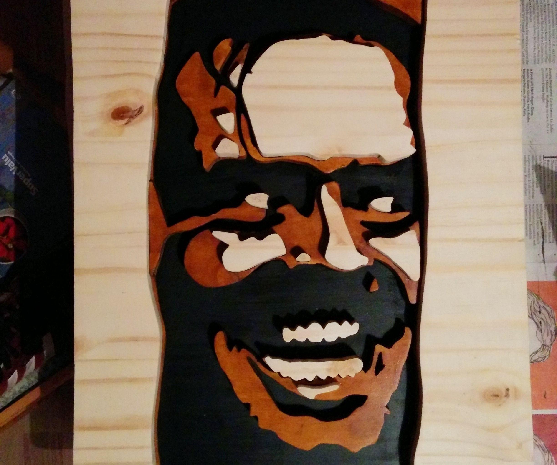 3D Wooden Portrait