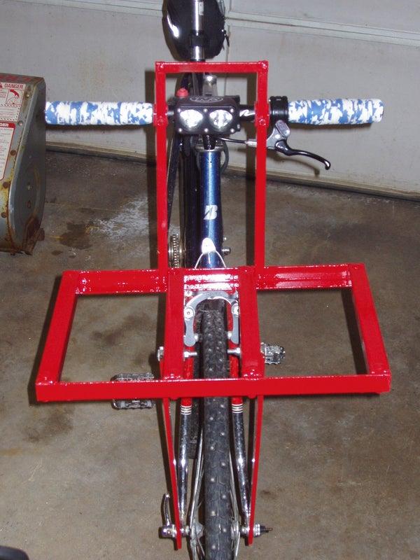 CETMA Style Bolt Together Front Bike Rack
