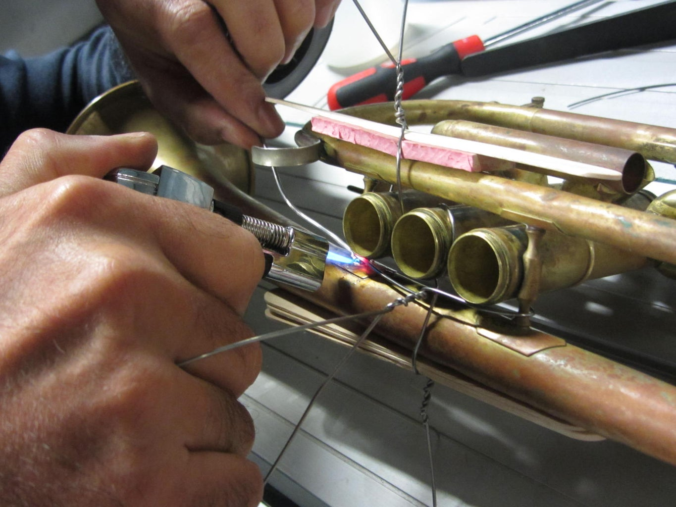 Time to Solder the Instrument.