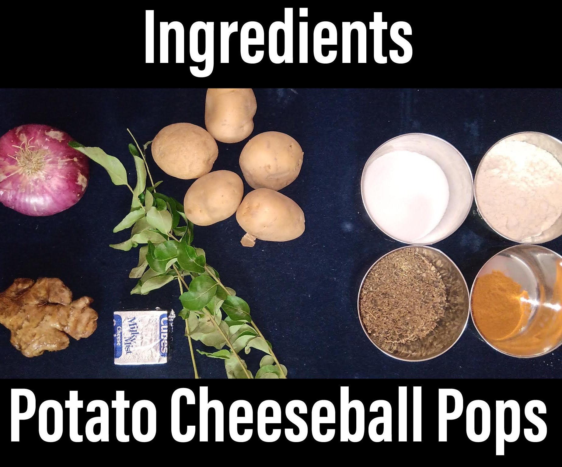 Potato Cheeseball Pops & Smileys!