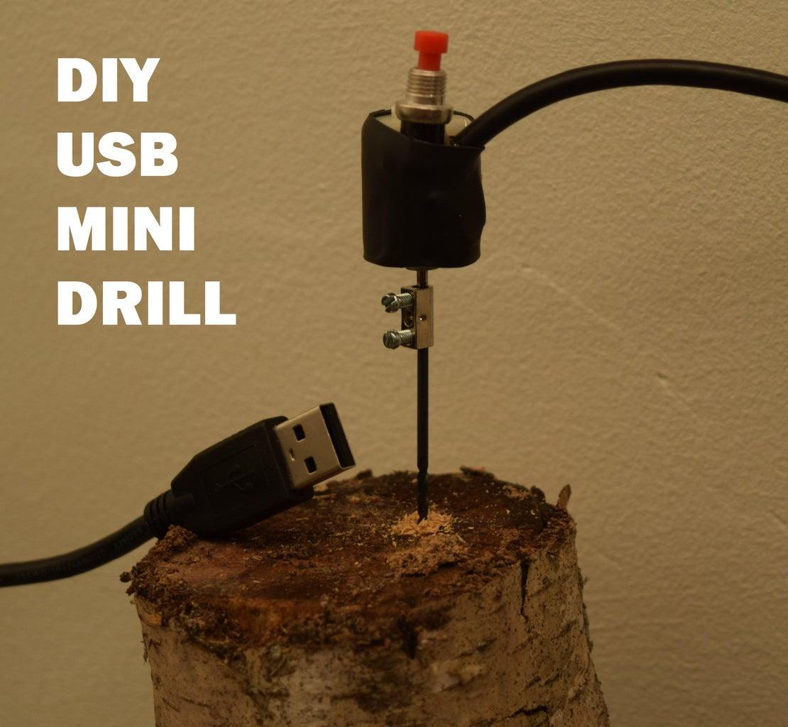 USB Powered Mini Drill