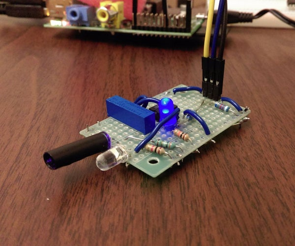 DIY Infrared Motion Sensor System for Raspberry Pi