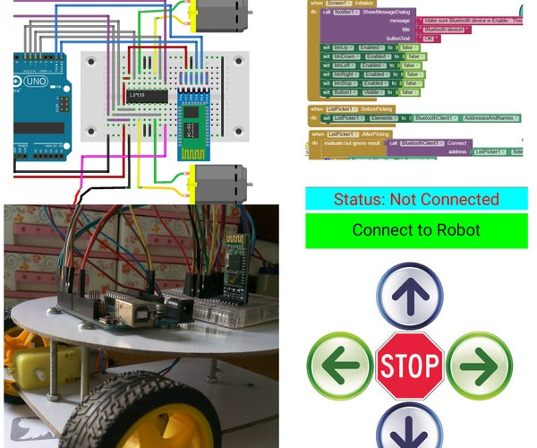 Android Controlled Robot for Beginners (A to Z)