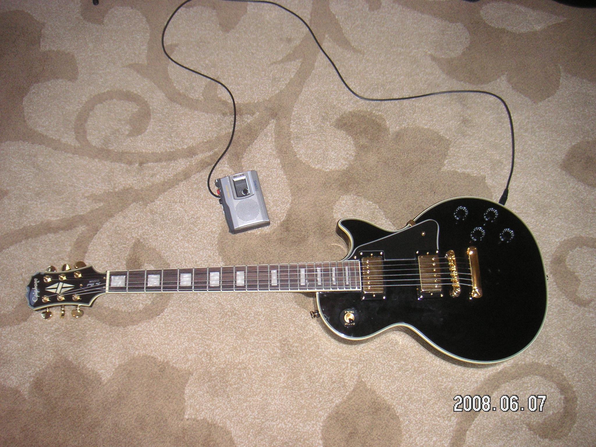Cassette Player Guitar Amp