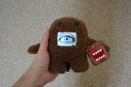 Easy DIY Domo Plushie Photo Frame Combo