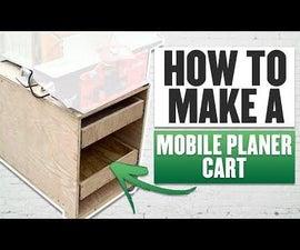Mobile Milling Cart | Jointer & Planer Station
