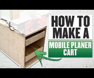 Mobile Milling Cart | Jointer & Planer Station