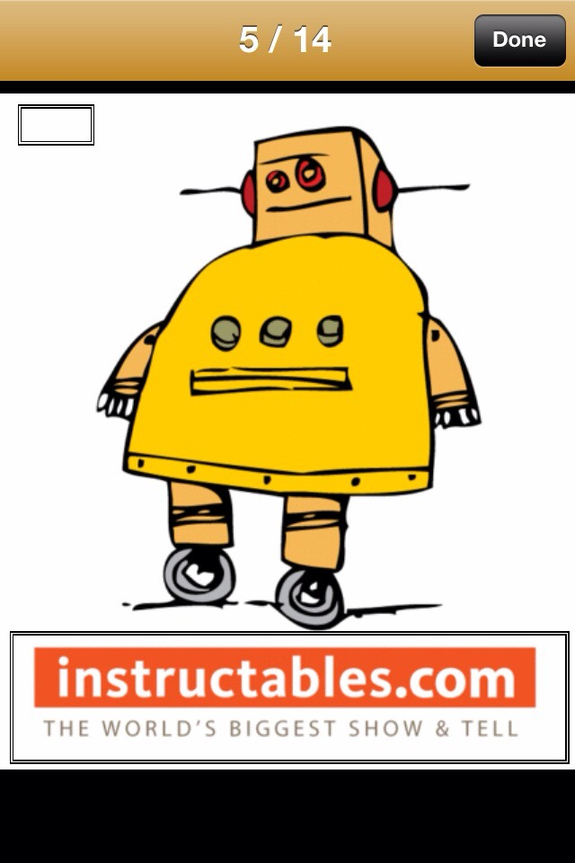 Instructables Robot