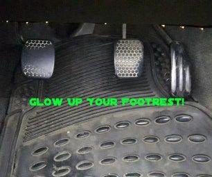 DIY Car Footrest Light!