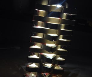 How to Make LED Lamp From Pegs
