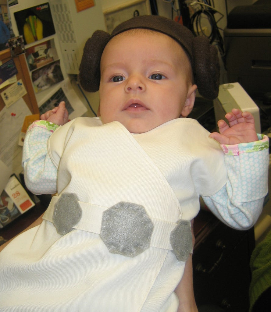 Baby Princess Leia Costume!