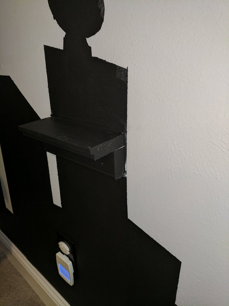 Paint Shelves to Match