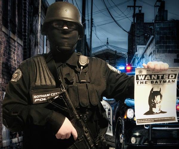 "How to Make a DC: ""Gotham SWAT"" Costume"