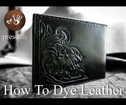 How to Dye and Stain Leather
