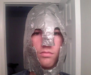 How to Make a Duct Tape Helmet