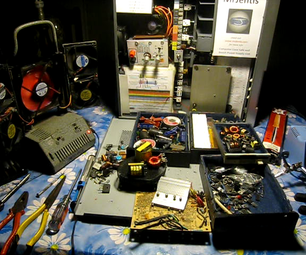 How to Make Use of an Old Computer PSU