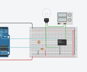 Arduino Light Intensity Lamp - Jasdeep