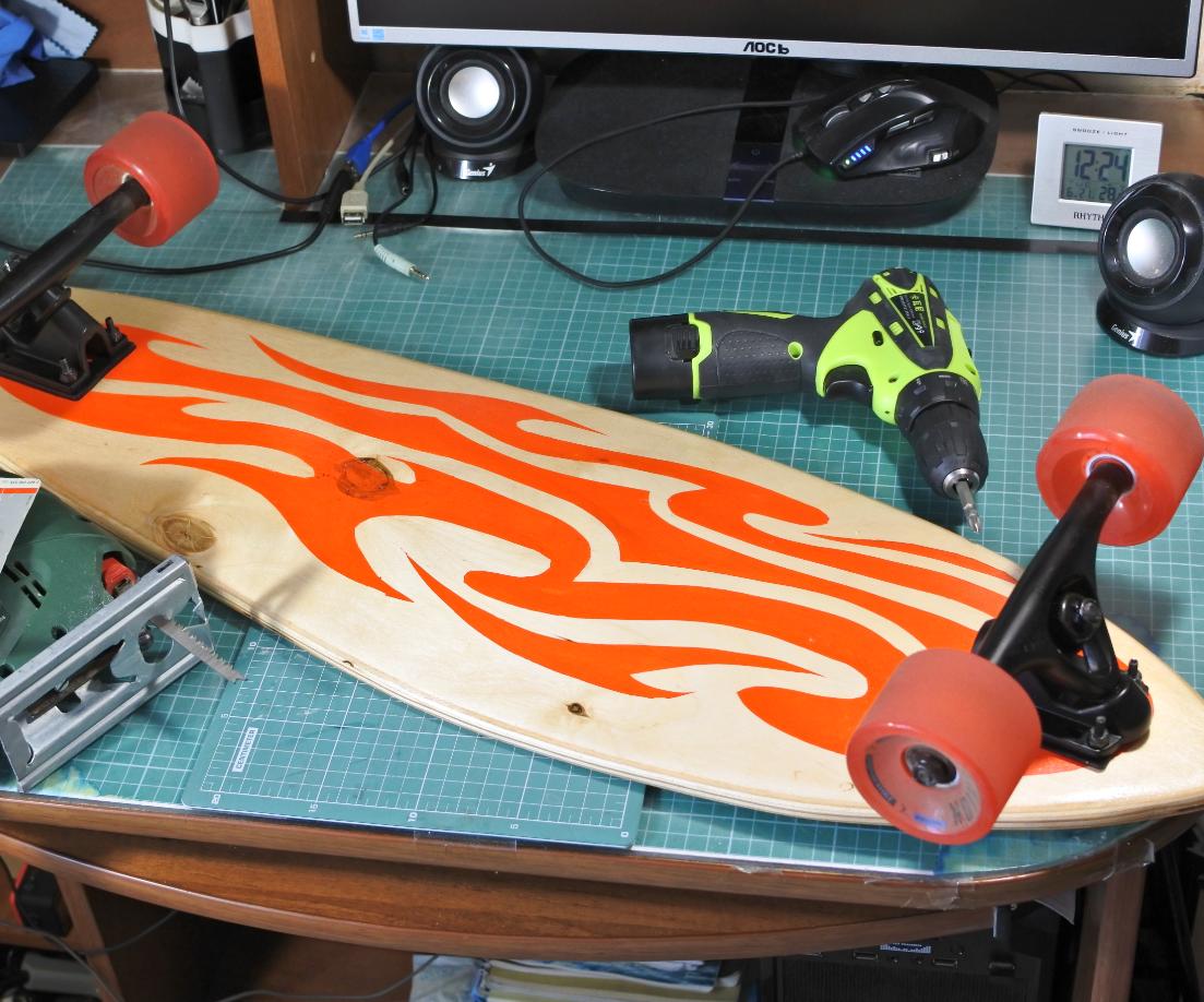 DIY Longboard