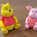 How to do Winnie the Pooh fondant topper
