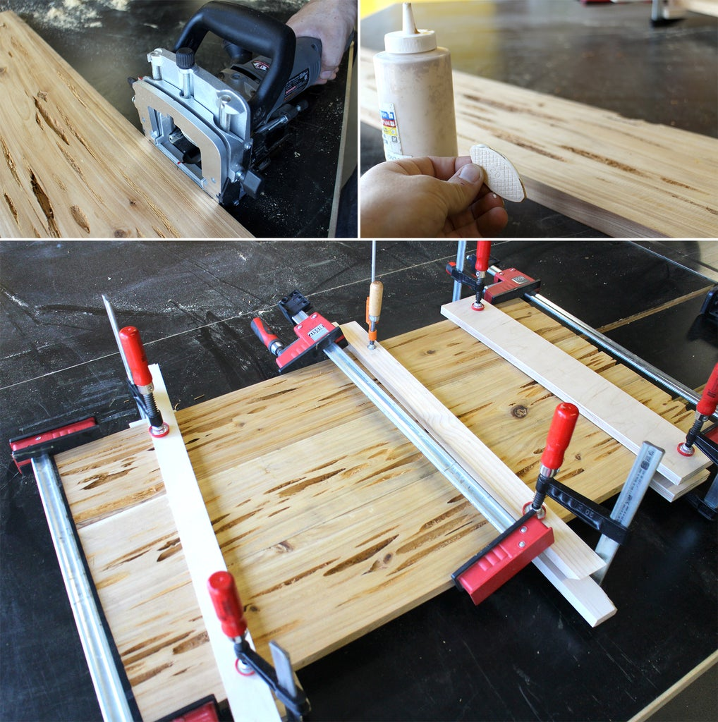 Join Planks to Make a Board