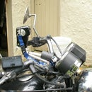 Cheap (ugly?) Camera mount for motorcycle