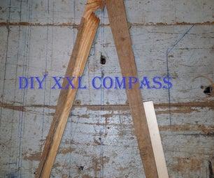 DIY XXL Compass