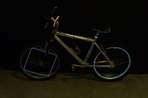 EZ-EL Wire Designs on Bike Video Tutorial!